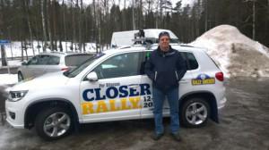 Rally Sweden föråkare